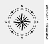 wind rose compass  vector...   Shutterstock .eps vector #765404305
