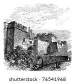 Entrance Of The Castle Carlisle ...