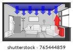 3d illustration of radiator... | Shutterstock . vector #765444859