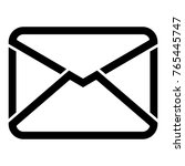 mail envelope isolated icon | Shutterstock .eps vector #765445747