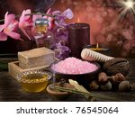 spa  aromatherapy concept   Shutterstock . vector #76545064