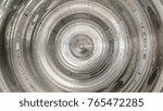 modern digital liquid whirl art ... | Shutterstock . vector #765472285