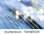 abstract business modern city... | Shutterstock . vector #765485104