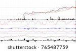 uptrend. financial  rising ... | Shutterstock . vector #765487759
