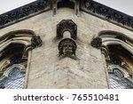arundel  uk  gargoyle man stone ... | Shutterstock . vector #765510481