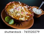 Small photo of traditional mexican food pozole