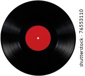 Black Vinyl Record Lp Album...