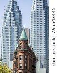 new york style building in...   Shutterstock . vector #765543445