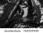 texture fabric black with... | Shutterstock . vector #765559939