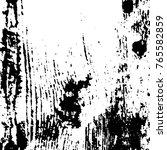 grunge black and white pattern... | Shutterstock .eps vector #765582859