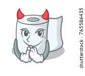 devil tissue character cartoon...