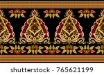 seamless traditional indian... | Shutterstock . vector #765621199