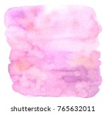 abstract pink watercolor... | Shutterstock . vector #765632011
