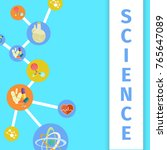 science trendy inventions in... | Shutterstock .eps vector #765647089