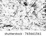 grunge black and white pattern. ...   Shutterstock . vector #765661561