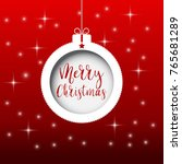 new year's background. white... | Shutterstock .eps vector #765681289