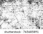 grunge black and white pattern. ... | Shutterstock . vector #765685891