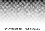 seamless white snow fall... | Shutterstock .eps vector #765690187