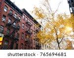 new york city residential...   Shutterstock . vector #765694681