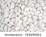 white stone background.... | Shutterstock . vector #765696961