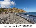 machico  madeira  portugal  ... | Shutterstock . vector #765702361