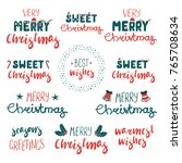 collection of different... | Shutterstock .eps vector #765708634