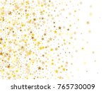 gold sparkling background with... | Shutterstock .eps vector #765730009