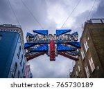 london  uk   october 09  2017 ... | Shutterstock . vector #765730189