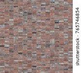 seamless brick texture ... | Shutterstock . vector #765746854