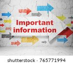 information concept   arrow... | Shutterstock . vector #765771994