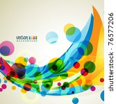 abstract eps10 vector shape... | Shutterstock .eps vector #76577206