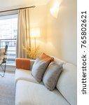 modern apartment living room | Shutterstock . vector #765802621