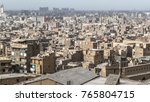 old city of cairo. destroyed... | Shutterstock . vector #765804715