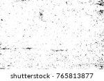 grunge black and white pattern. ... | Shutterstock . vector #765813877