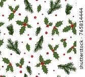 cartoon doodle seamless pattern ... | Shutterstock . vector #765814444