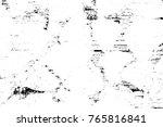 grunge black and white pattern. ... | Shutterstock . vector #765816841