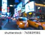new york city new york usa 8 31 ... | Shutterstock . vector #765839581