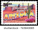 united states   circa 2002  a... | Shutterstock . vector #765843085