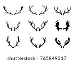 illustration with set of... | Shutterstock . vector #765849217