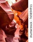red rocks of the weather beaten ...   Shutterstock . vector #765854911