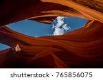 red rocks of the weather beaten ...   Shutterstock . vector #765856075