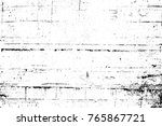 grunge black and white pattern. ... | Shutterstock . vector #765867721