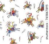 seamless texture  pattern ... | Shutterstock . vector #765867895