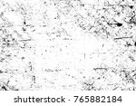 grunge black and white pattern. ... | Shutterstock . vector #765882184