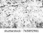 grunge black and white pattern. ... | Shutterstock . vector #765892981
