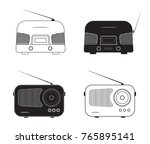 silhouette flat design  vector... | Shutterstock .eps vector #765895141