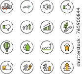 line vector icon set   fork... | Shutterstock .eps vector #765900844