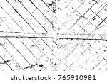 grunge black and white pattern. ... | Shutterstock . vector #765910981