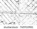 grunge black and white pattern. ... | Shutterstock . vector #765910981