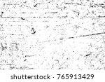 grunge black and white pattern. ... | Shutterstock . vector #765913429